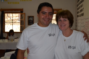 CPI Participant from NPH Mexico and Donna Egge, Director of Family Services